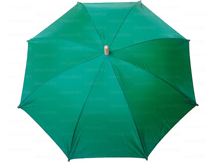 Guarda-chuva Individual verde
