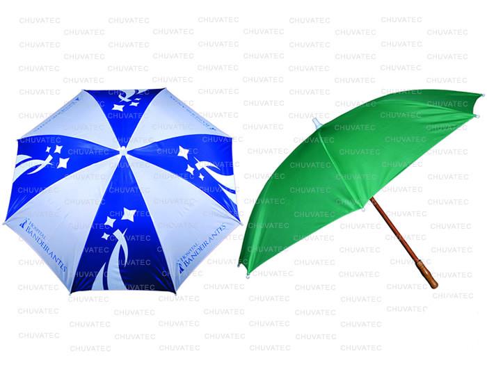 Guarda-chuva Recepção 1,40m  Haste Madeira